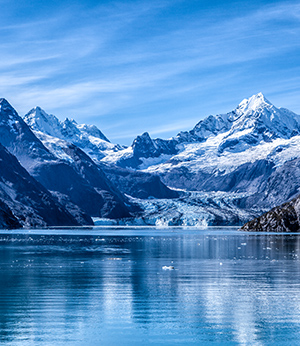 Swiss glacier water