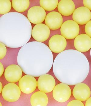 Microsphères de vitamines A, C, E